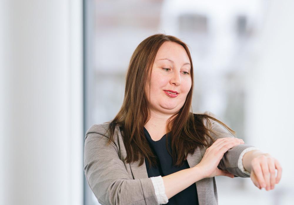 Nathalie Puchtler, Teamleiterin Wohngruppe Liestal